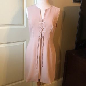 Kenneth Cole Tan Rose Dress size 8 NWT